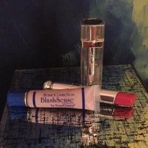 Lip and blush combo